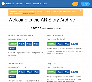 New look for the AR Archive